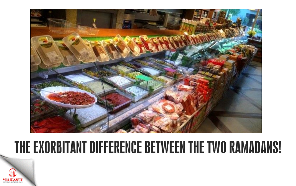 The exorbitant difference between the two Ramadans!