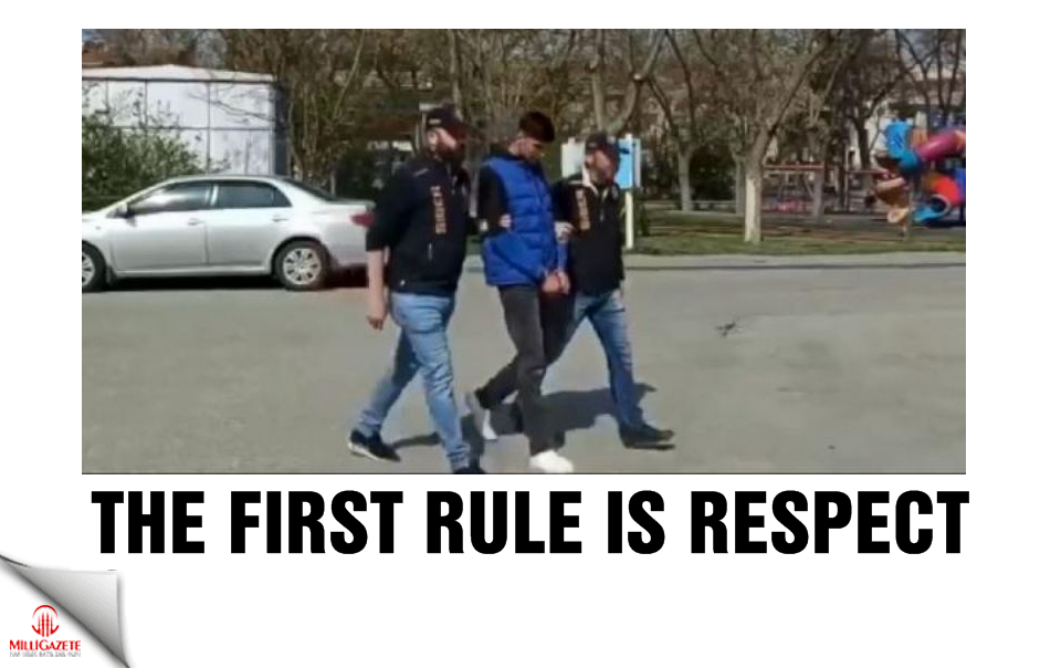 The first rule is respect