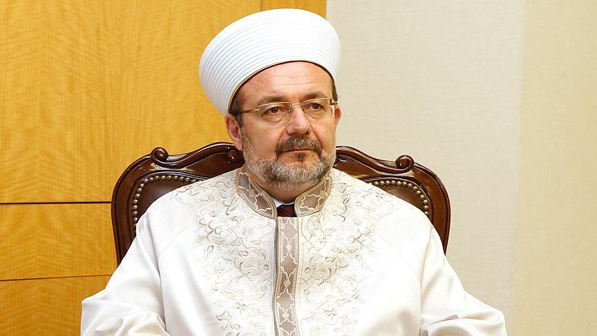 The Head of Religious Affairs Directorate criticizes Israel