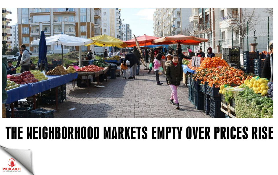 The neighborhood markets empty over prices rise