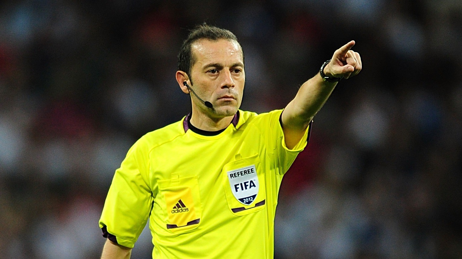 The referee of Derby match 'Cüneyt Çakır'