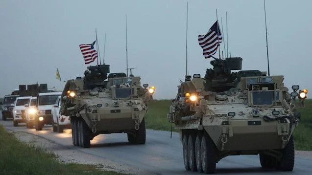 The US begins pulling equipment from Syria