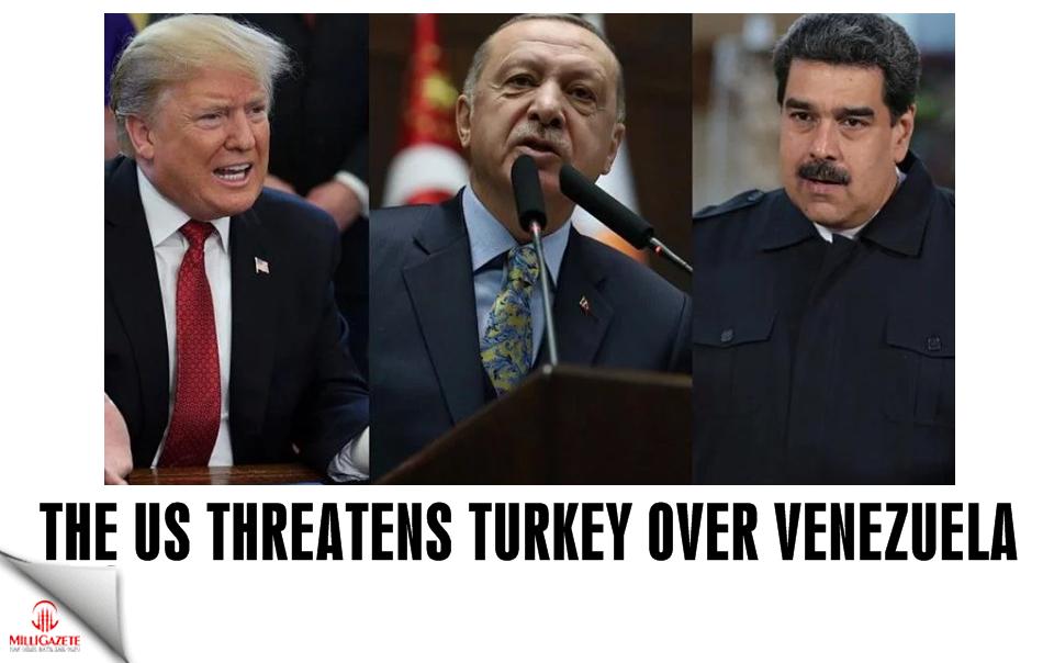 The US threatens Turkey over Venezuela