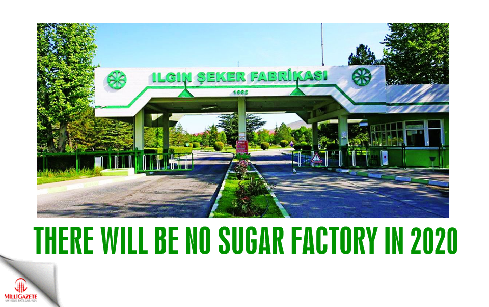 There will be no sugar factory in 2020