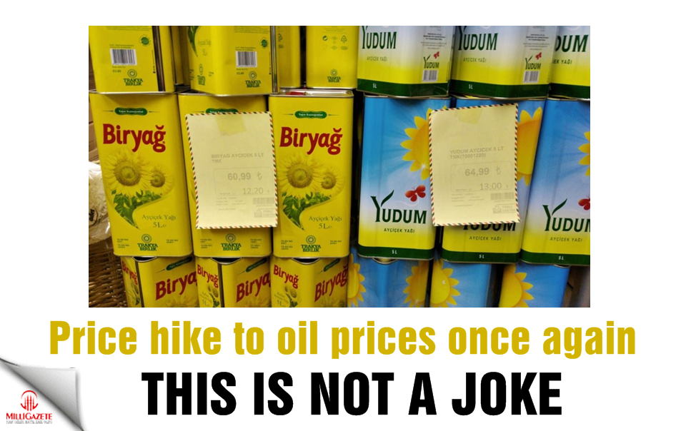 This is not a joke! Price hike to oil prices once again