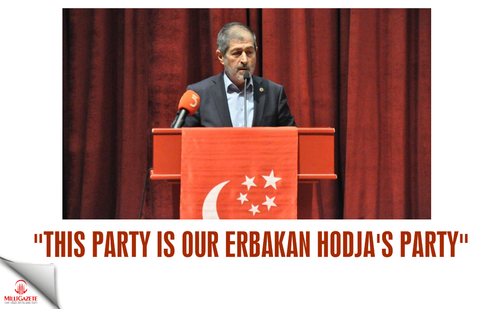 """""""This party is our Erbakan hodjas party"""""""