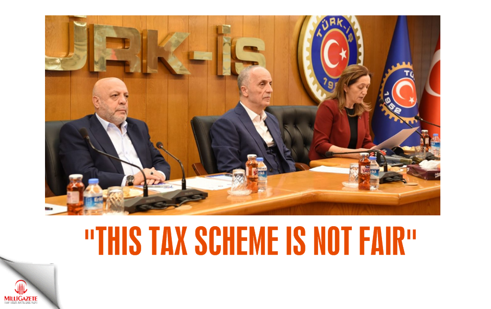 """This tax scheme is not fair"""