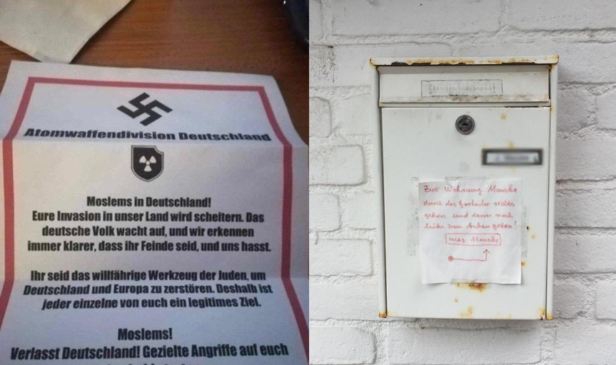Threatening letters sent to Muslims in Germany