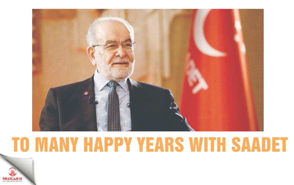 To many happy years with Saadet