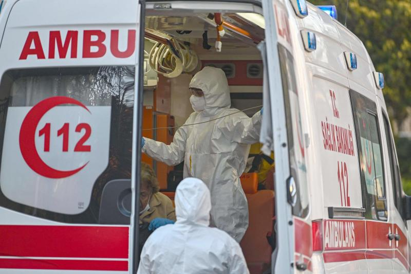 Total death toll tops 8 thousand from COVID-19 in Turkey