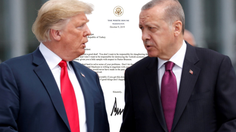 Trump's letter to Erdoğan may haunt Turkey-U.S. relations for long time