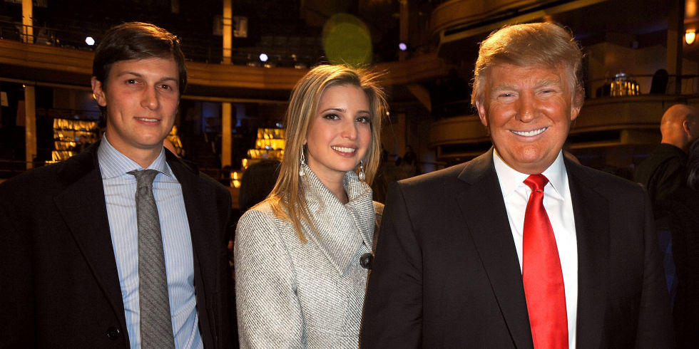 Trump appoints jewish son-in-law to top White House post