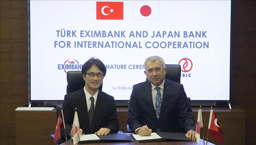 Turk Eximbank, Japanese bank ink deal