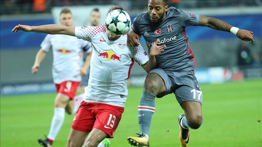 Turkey's Besiktas beat Leipzig in Champions League