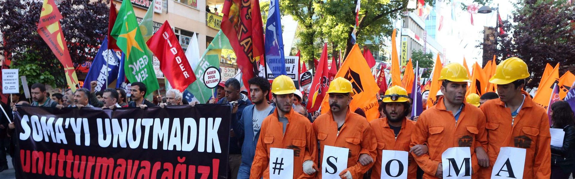 Turkey's Soma mining disaster commemorated on fifth anniversary
