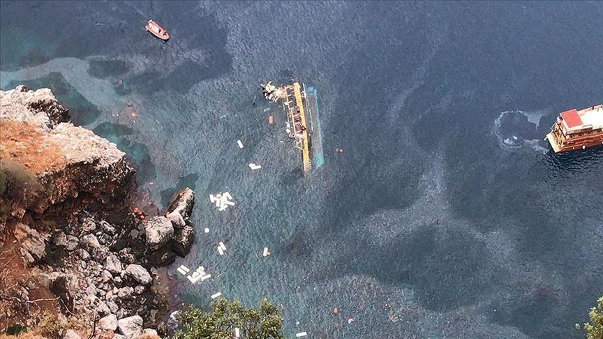 Turkey: 37 rescued, 1 body recovered from capsized boat