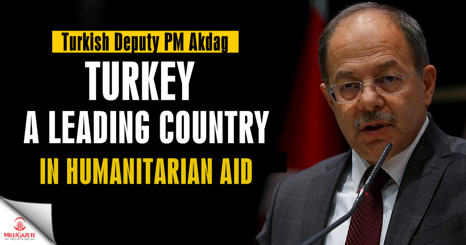 Turkey a leading country in humanitarian aid: Deputy PM