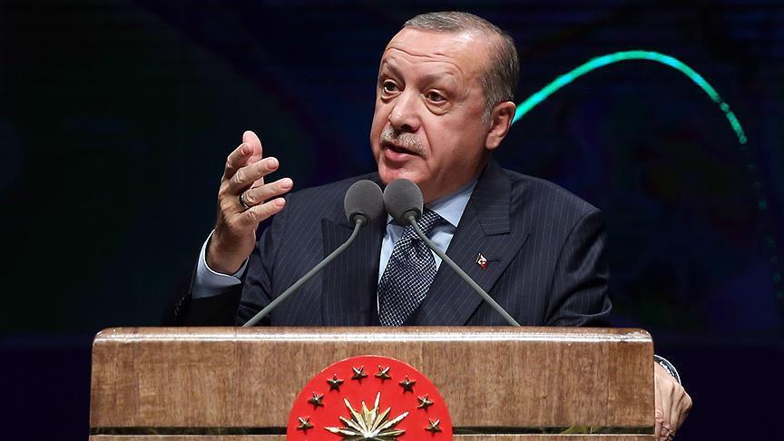 Turkey aims to produce unmanned tanks: Erdogan