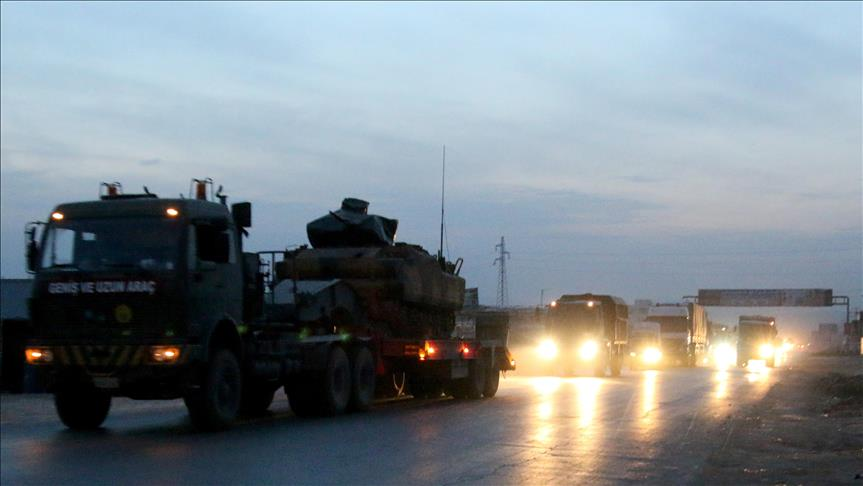 Turkey army moves to set Syria cease-fire monitor point