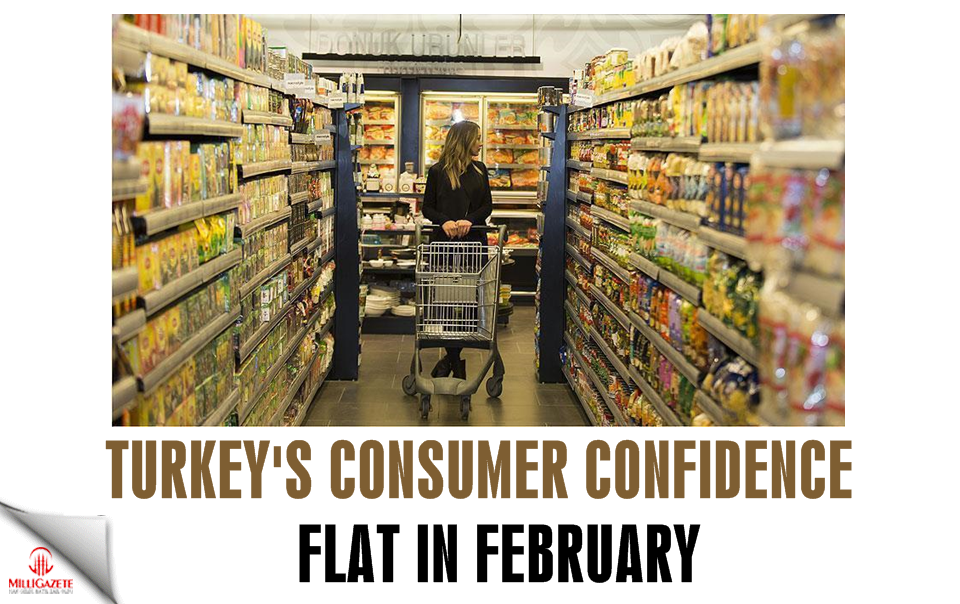 Turkey: Consumer confidence flat in February