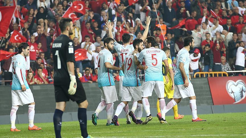 Turkey defeat Kosovo 2-0 in World Cup Qualifier