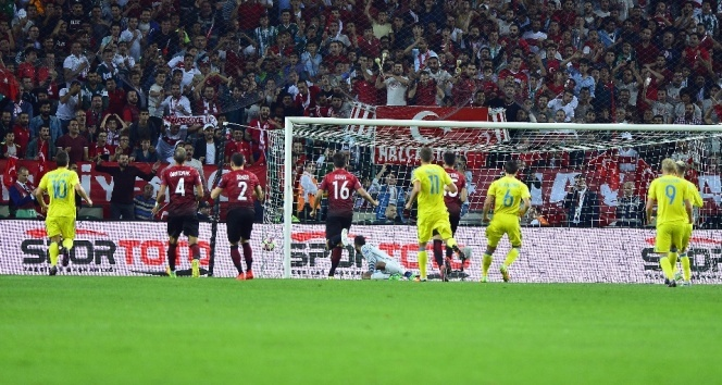 Turkey draws 2-2 with Ukraine in World Cup qualifier