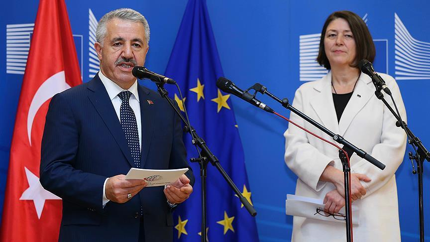 Turkey, EU to hasten transport cooperation