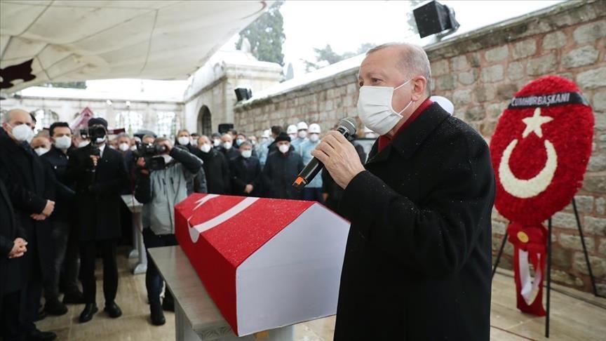 Turkey: Funeral held for ex-Istanbul mayor Kadir Topbas