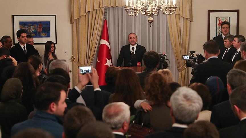 Turkey gave US another chance: FM Cavusoglu