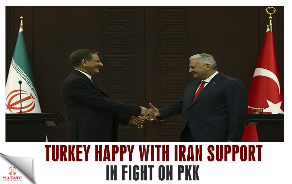 Turkey happy with Iran support in fight on PKK