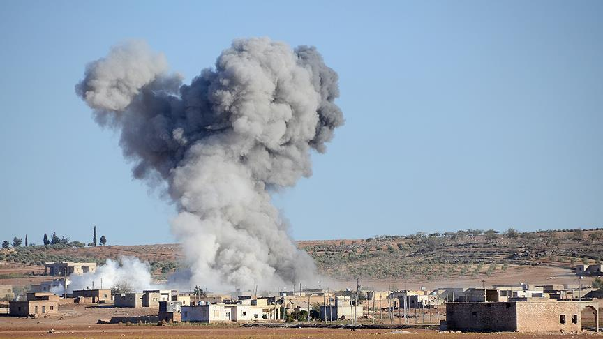 Turkey hits 93 Daesh targets in Syria