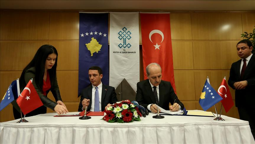 Turkey, Kosovo sign pact to boost cultural ties