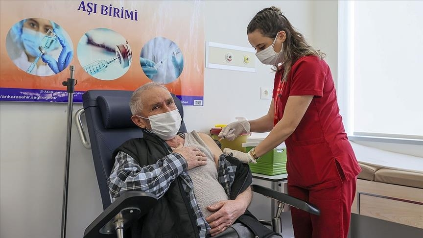 Turkey: Number of people vaccinated for COVID tops 2M