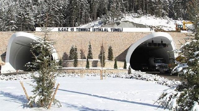 Turkey opens Ilgaz Tunnel