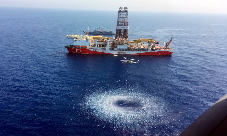 Turkey said to discover 800 billion cubic meters of natural gas in Black Sea