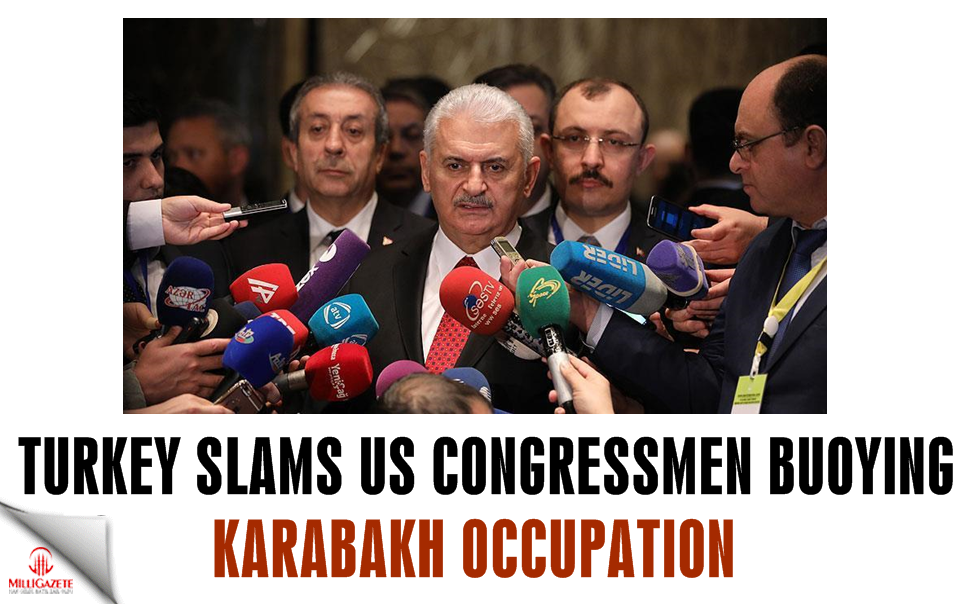 Turkey slams US congressmen buoying Karabakh occupation