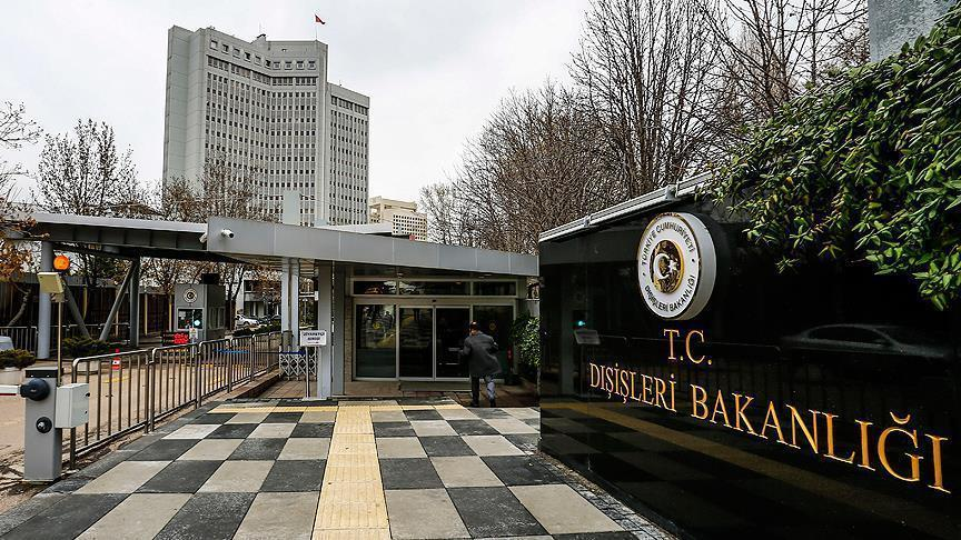 Turkey summons US ambassador over Washington clash