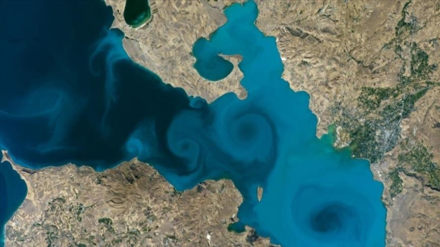 Turkey supports Lake Van photo at NASA contest