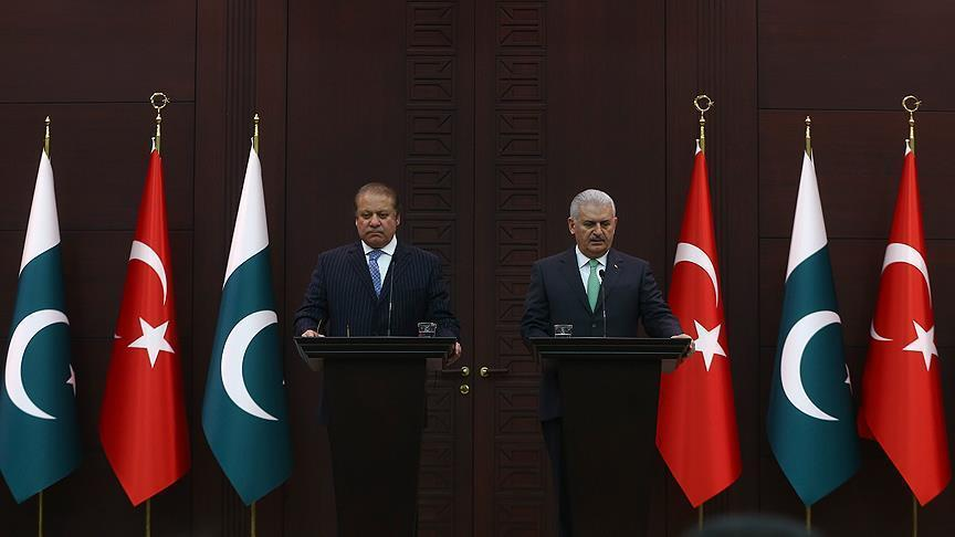 Turkey thanks Pakistan for standing by Turkey during defeated coup