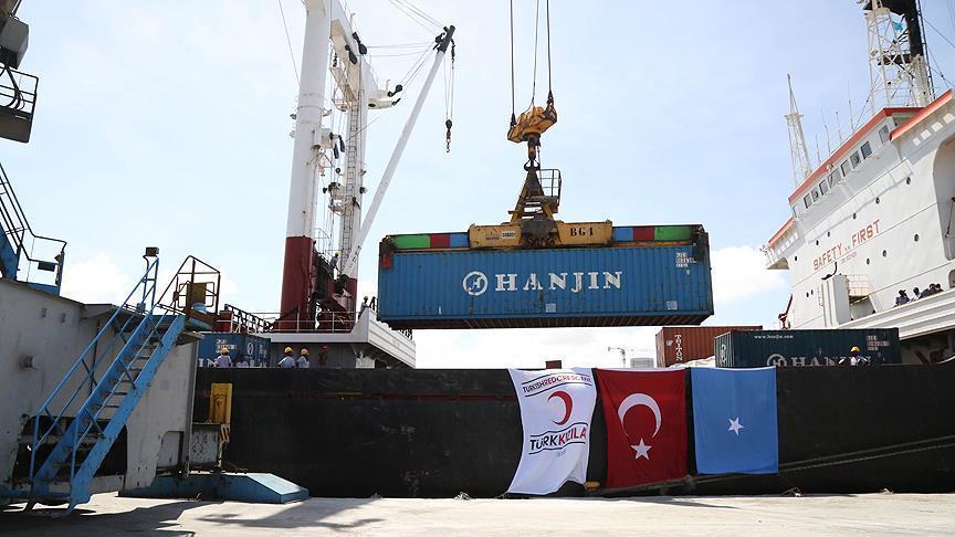 Turkey to send 15,000 tons of aid to Somalia in Ramadan