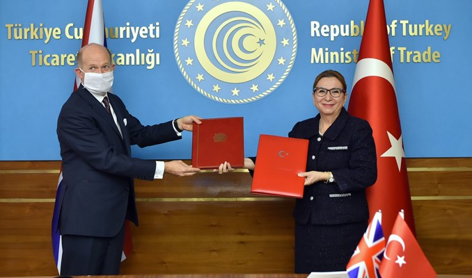 Turkey, UK sign historic free trade agreement