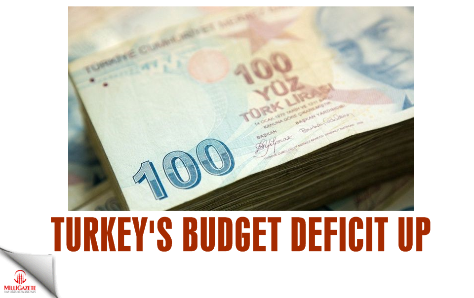 Turkeys budget deficit up!
