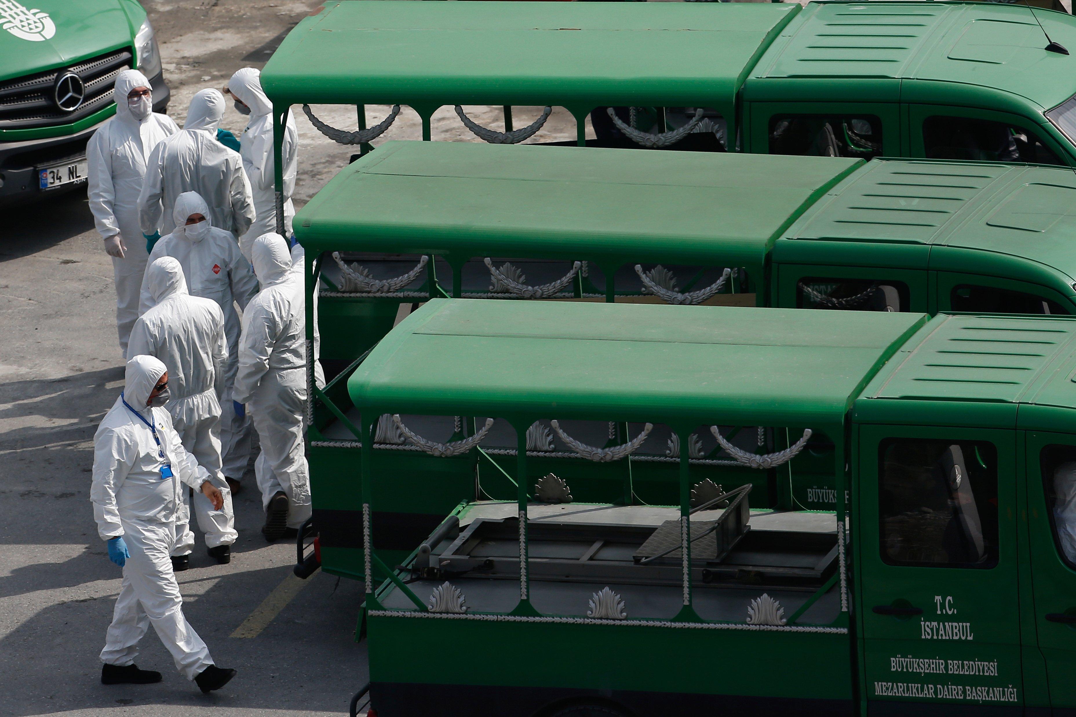 Turkey's coronavirus death toll reaches 9,371