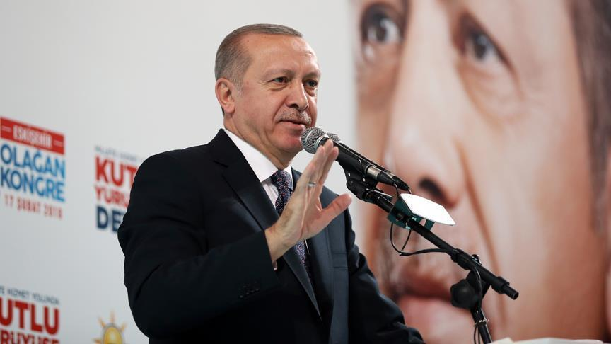 Turkey's Erdogan vows to continue fight against terrorists