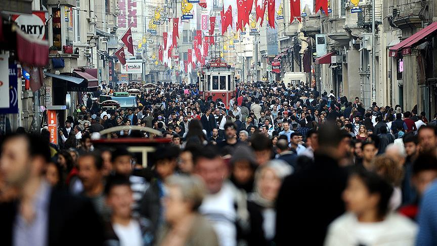 Turkey's population hits new high, over 80 million