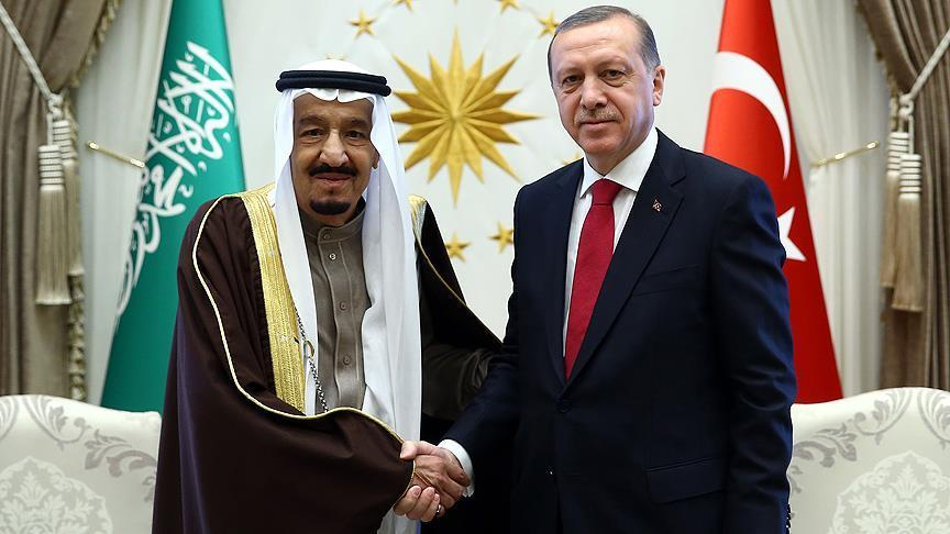 Turkeys president speaks to Saudi counterpart