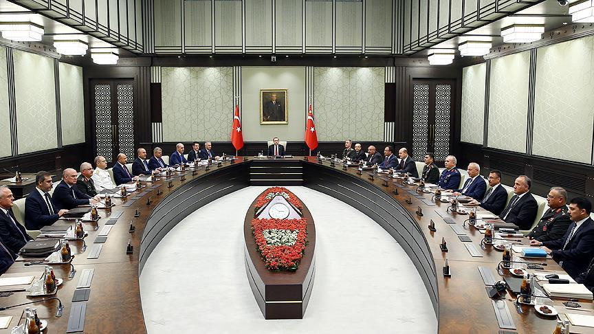 Turkey's security council recommends extending emergency