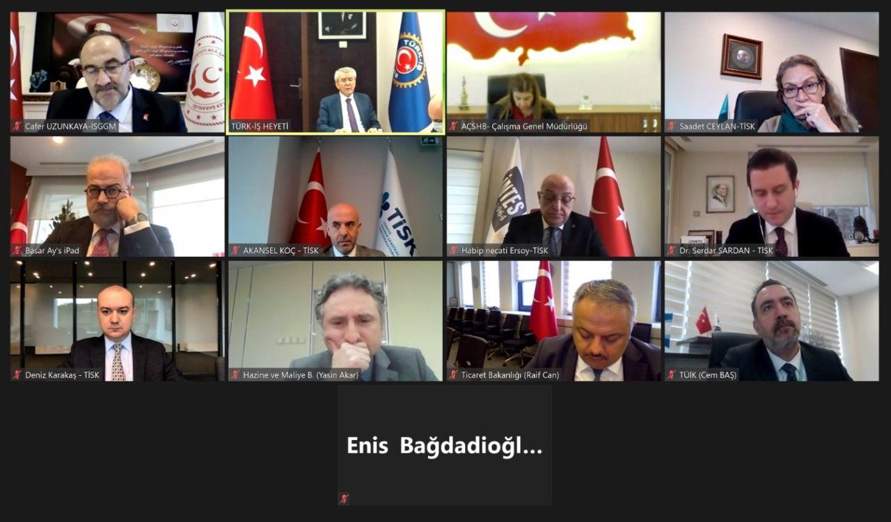 Turkeys Statistical Institute offered hunger in minimum wage talks