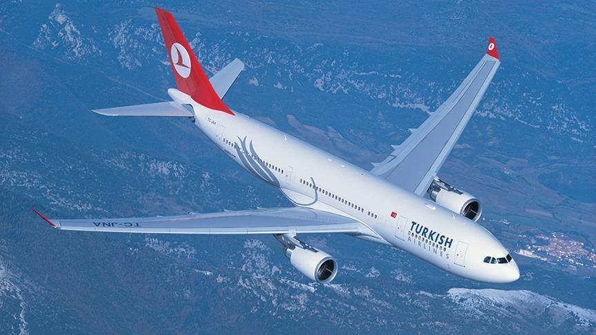 Turkish Airlines passenger numbers rise