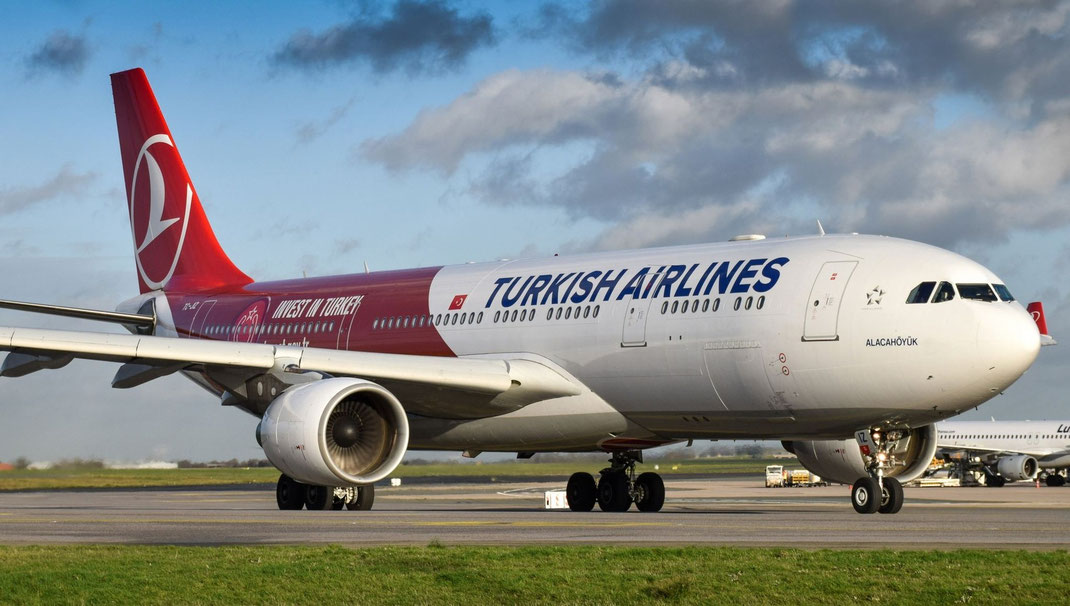 Turkish Airlines plane makes early landing for sick baby